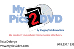 MyPics2DVD business card