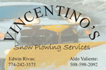 Vincentino business card